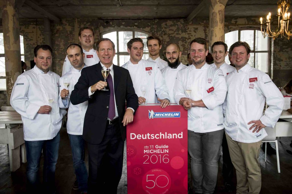 Berlin Michelin Stars 2016