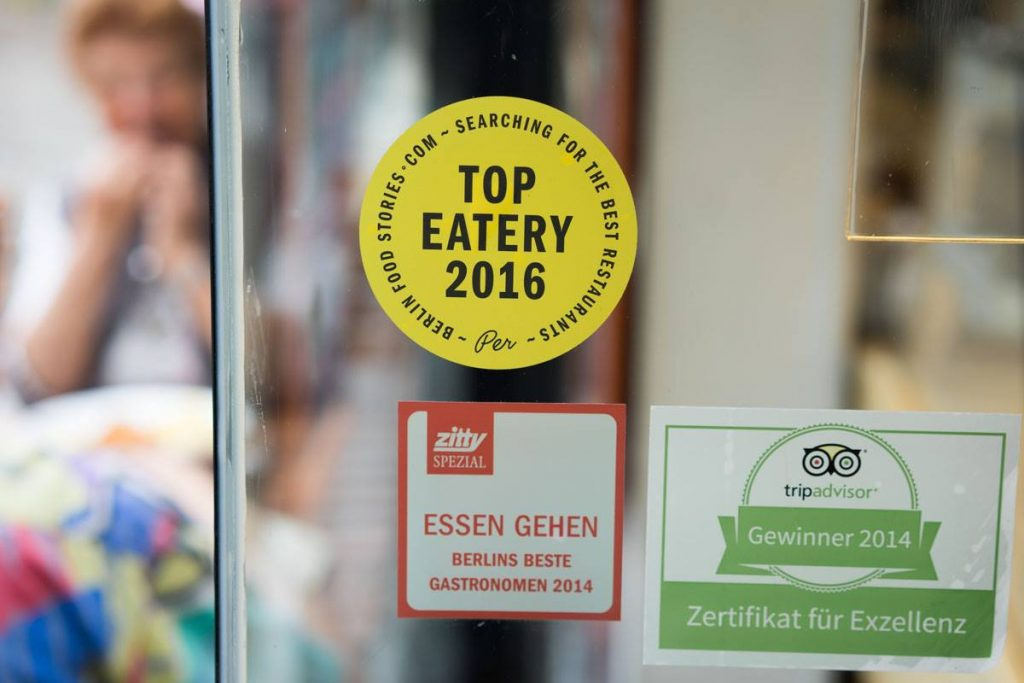 Top Eatery Berlin 2016