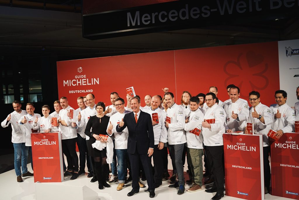 The Michelin Guide Gala of 2017