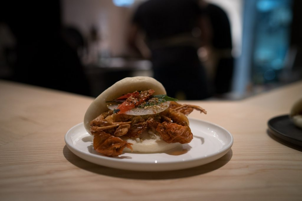 Mrs. Robinson's Berlin Crab Bao