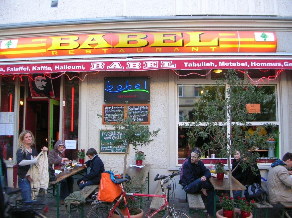 babel berlin restaurant outside