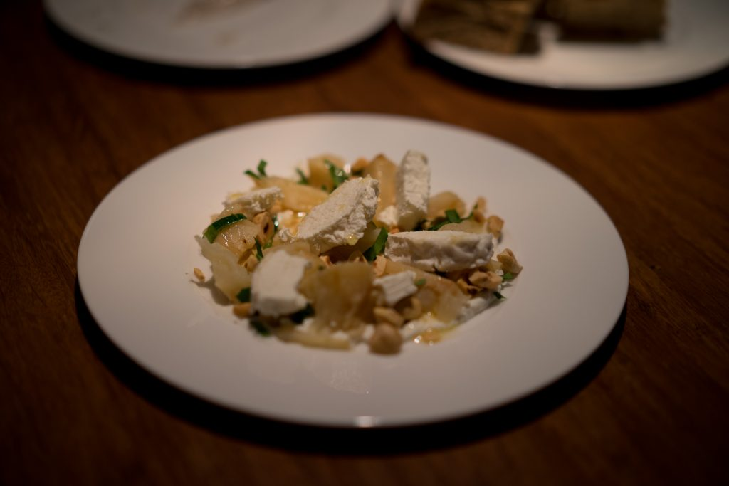 Lode and Stijn Berlin Celeriac Goat Cheese