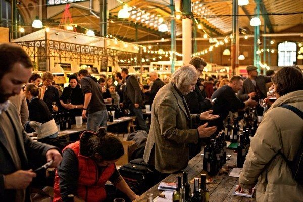 RAW natural wine fair Berlin event