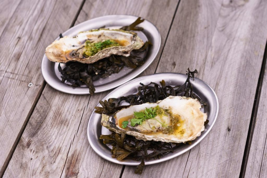 Khwan Berlin Grilled Oysters