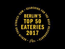 Berlin's Top 50 Eateries 2017