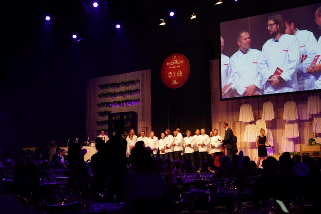 Berlin Michelin 2018 Gala