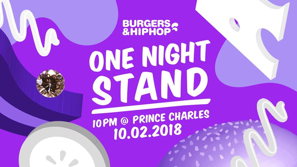 Burgers and Hip Hop Berlin event
