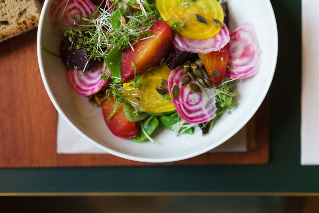 ORA Berlin Beetroot Postelein Salad
