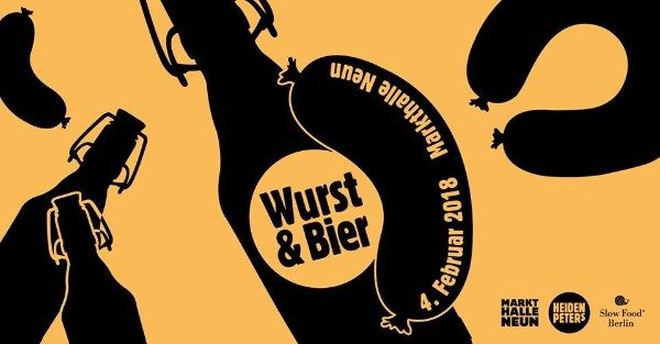 Wurst and Bier Brlin event