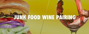 Junk food and wine pairing Berlin event