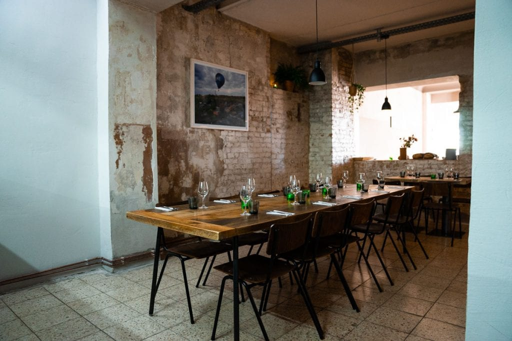 Palsta Berlin Communal Table