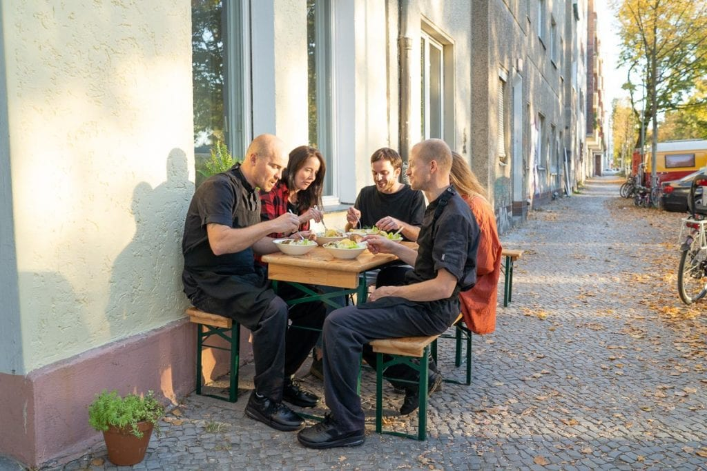Palsta Berlin Staff Meal Team