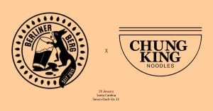 ChungKing noodles and Berliner Berg Berlin