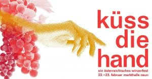Kuess die Hand Berlin event