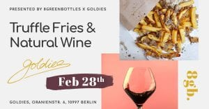 Goldies natural wine event Berlin