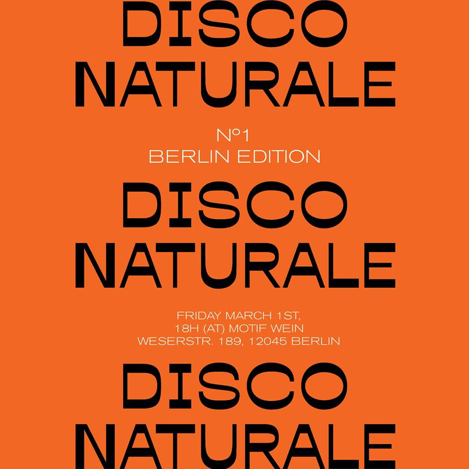 Disco Naturale Berlin
