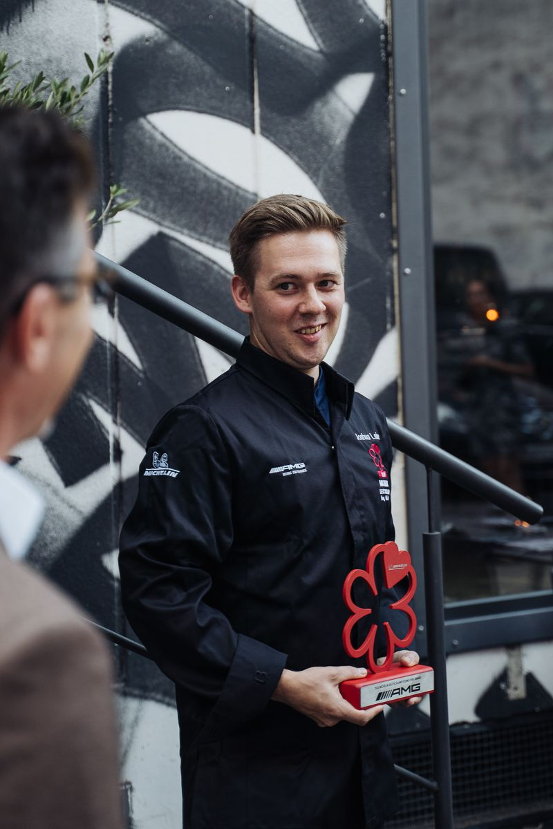 Michelin AMG Young Chefs Award Germany 2020 Mural Munich Joshua Leise