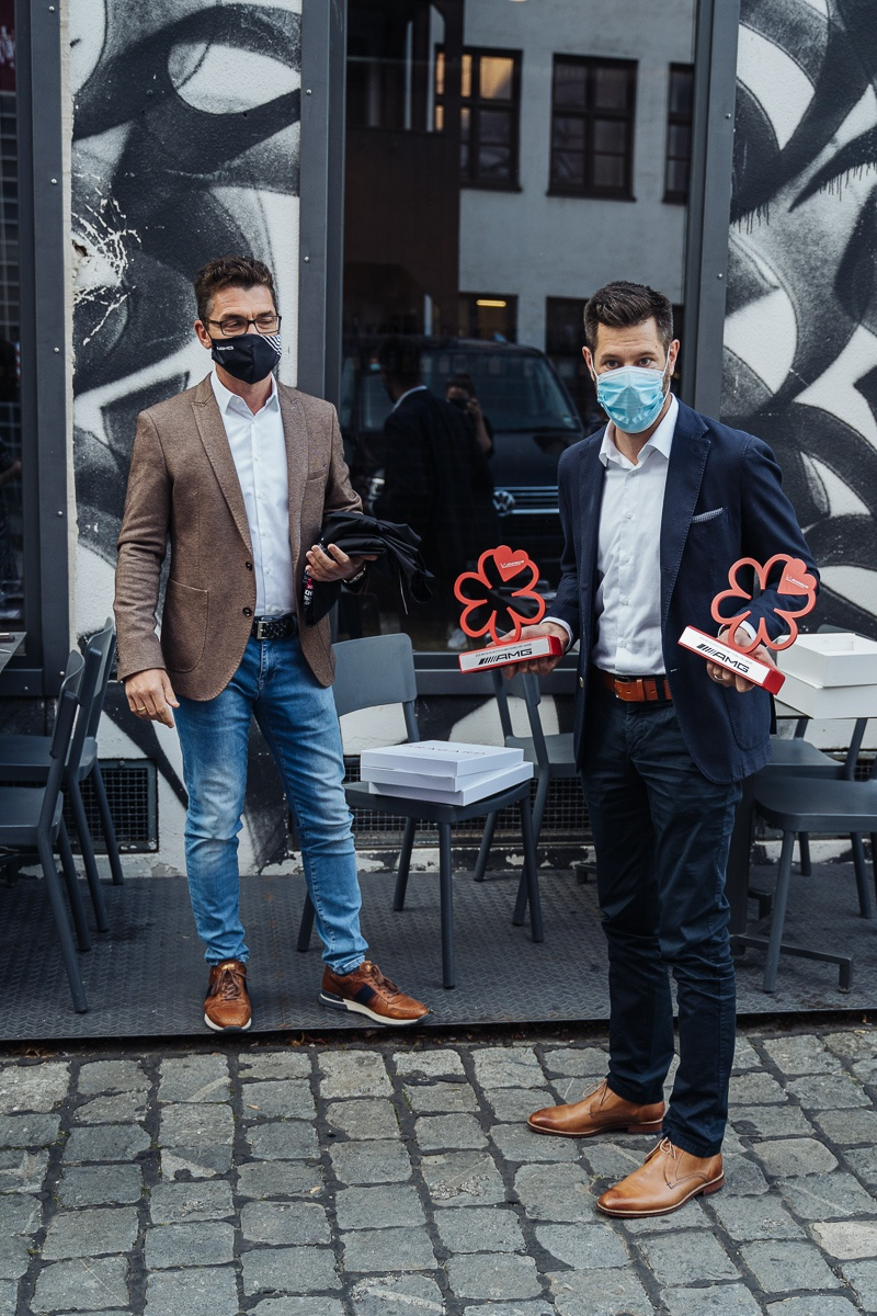Michelin AMG Young Chefs Award Germany 2020 Mural Munich Philipp Ostbomk and Michael Knöller
